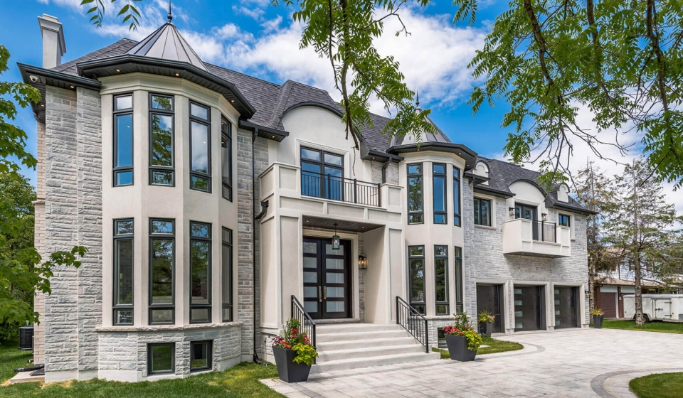 two floors condo in Gothic style in Toronto left side